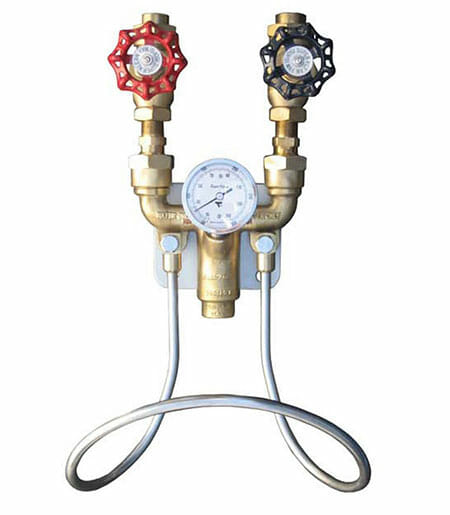 Brass Hot & Cold Water Mixers