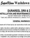 Hose Reel Installation Instructions