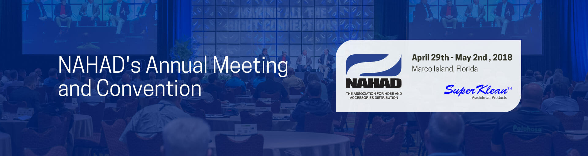 NAHAD's Annual Meeting and Convention