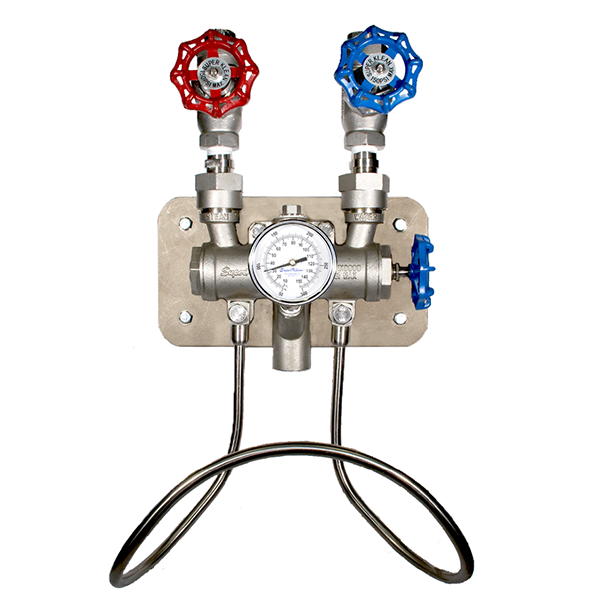 SuperKlean 3600M-S Stainless Steel Water Mixing Unit