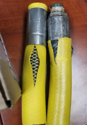 Industrial hot water hose