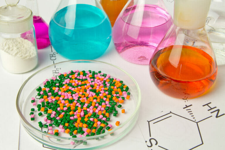 Chemical Polymer plastic plant